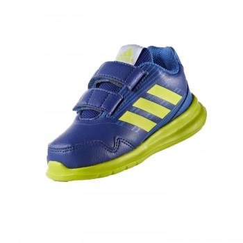 Μπλε δερμάτινο αθλητικό ADIDAS BB6392