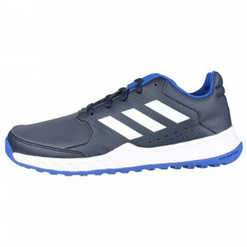 e8baa586044 Μπλε δερμάτινο αθλητικό ADIDAS BY2600 ...