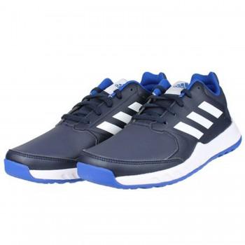 Μπλε δερμάτινο αθλητικό ADIDAS BY2600