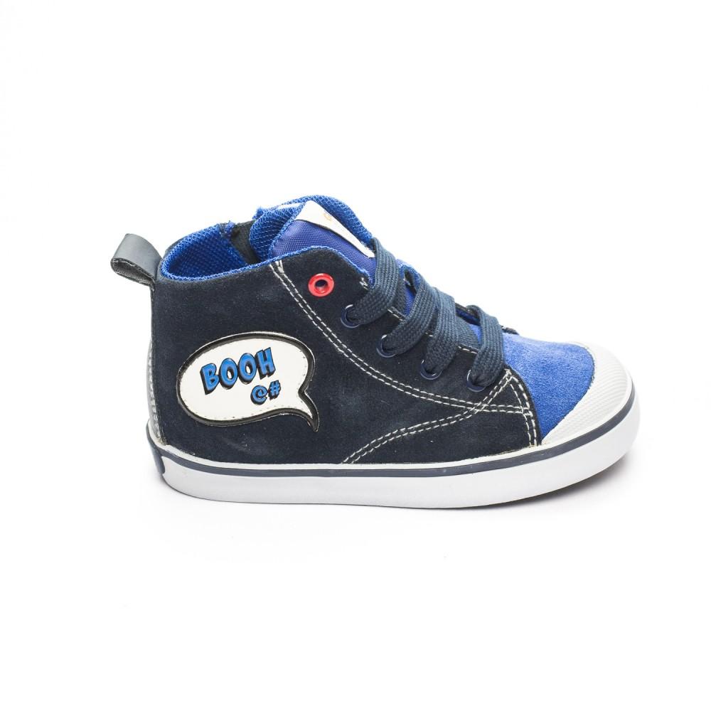 c74744cb31b Μπλε μποτάκι Geox B74A7C 00022 C4226-funfun