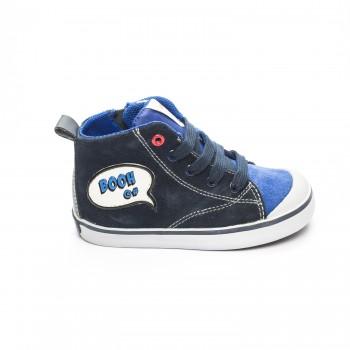 Μπλε μποτάκι Geox B74A7C