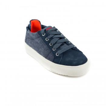 Μπλε σαμουά sneaker Replay JZ 180021T
