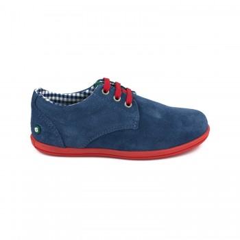 Μπλε σαμουά sneaker GORILA 49401