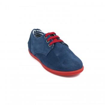 Μπλε σαμουά sneaker GORILA 49401K