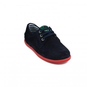 Μπλε σκούρο σαμουά sneaker GORILA 49401K