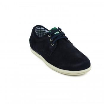 Μπλε σκούρο σαμουά sneaker GORILA 49401