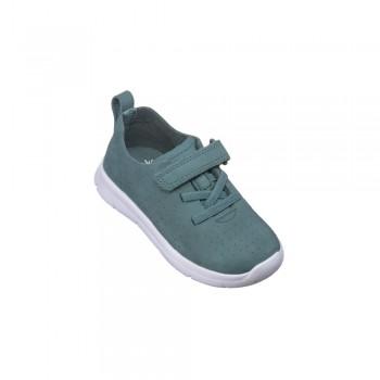 Παιδικό Clarks sneakers πάνινο ATH Elite T Teal Nubuck 26141316 Πράσινο