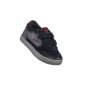 Mayoral sneaker δερμάτινο μπλε-γκρι 19-42076-020