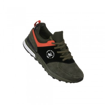 Παιδικό Sneaker Beverly Hills Polo Club PC04 Olive/Blac