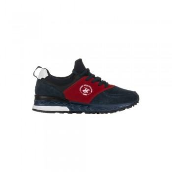 Παιδικό Sneaker Beverly Hills Polo Club PC04 Navy/Red