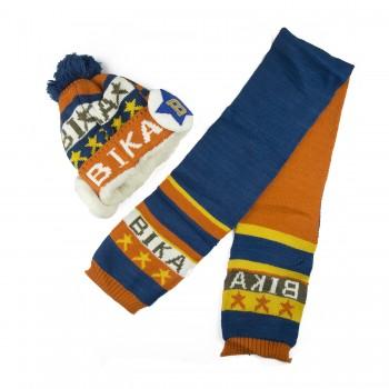 Μπλε - πορτοκαλί σετ A0013