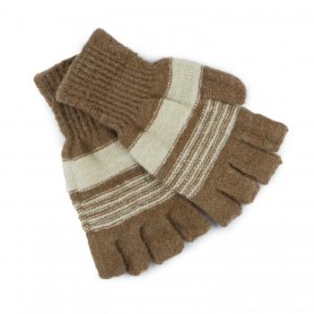 Καφέ γάντια A0022
