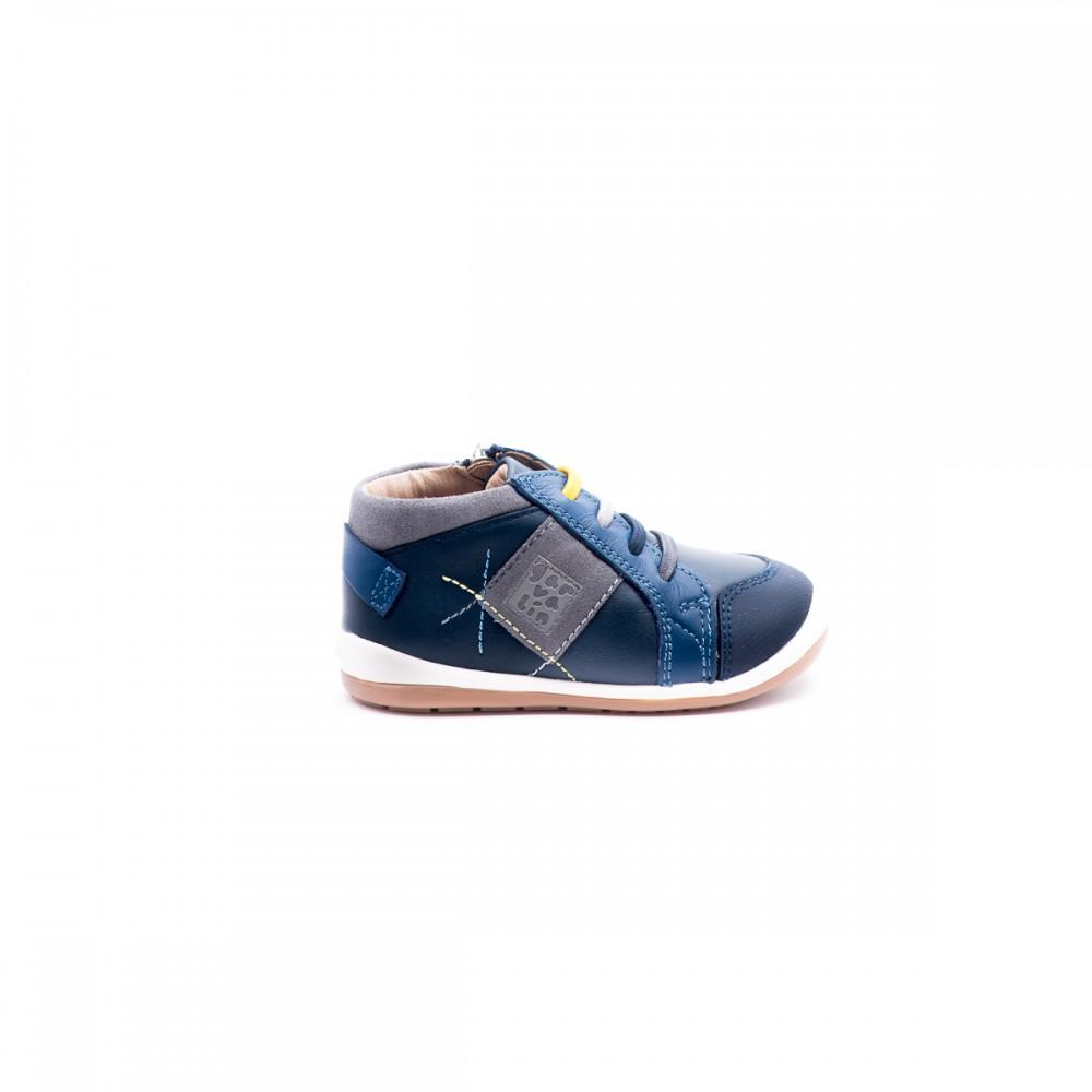 2bee5b8e4e5 Παιδικό Παπούτσι - Garvalin μπλε δερμάτινο μποτάκι 161326- Δερμάτινο ...