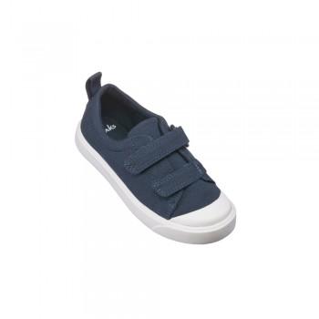 Παιδικό Clarks sneakers πάνινο City Flare LO T 26141584 Navy Μπλε