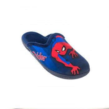 Μπλε παντόφλα spiderman Mini Max A14032