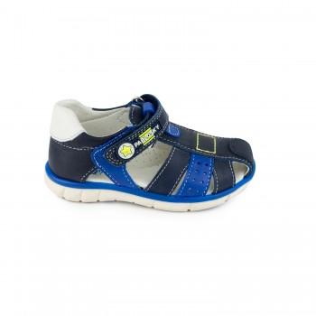 Δερμάτινο μπλε παπουτσοπέδιλο PABLOSKY 007126