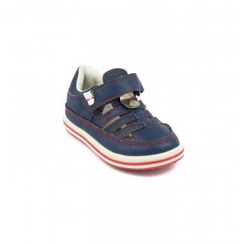 Μπλε δερμάτινο παπουτσοπέδιλο Mayoral 41664