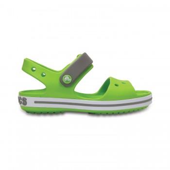 Πράσινο πέδιλο Crocs 12856-3K9 crocband sandal kids volt green