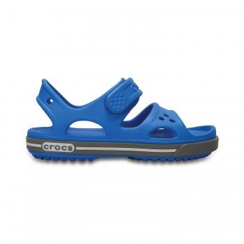Μπλε πέδιλο Crocs 14854-4FM crocband sandal kids ps ocean