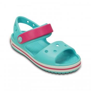 Γαλάζιο πέδιλο Crocs 12856-4FV crocband sandal kids pool