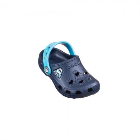 Coqui Clogs Little Frog 8701 Lt.blue