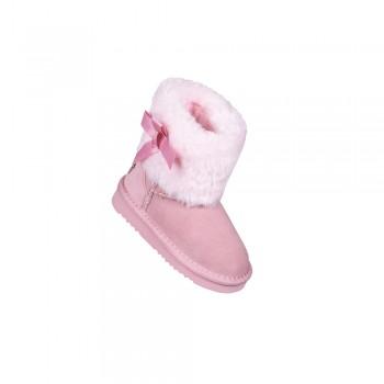 Καστόρινο ροζ μποτάκι Childrenland 8005