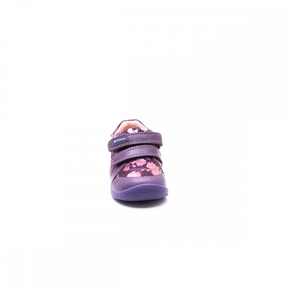 Παιδικό Παπούτσι - Garvalin φλοράλ μποτάκι 161318- Δερμάτινο μποτάκι ... f3f41e17bc0