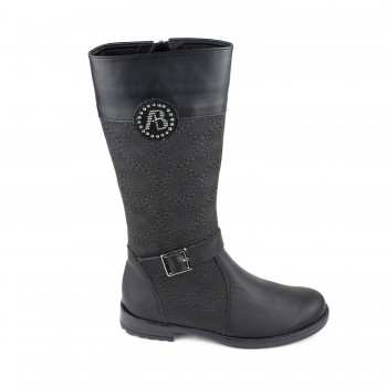 Δερμάτινη μπότα Aby Shoes 794