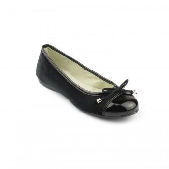Μαύρη μπαρέτα Aby Shoes ABY740