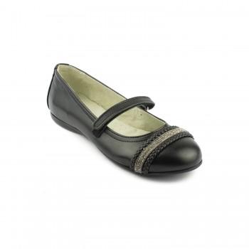 Μαύρη μπαρέτα Aby Shoes ABY745