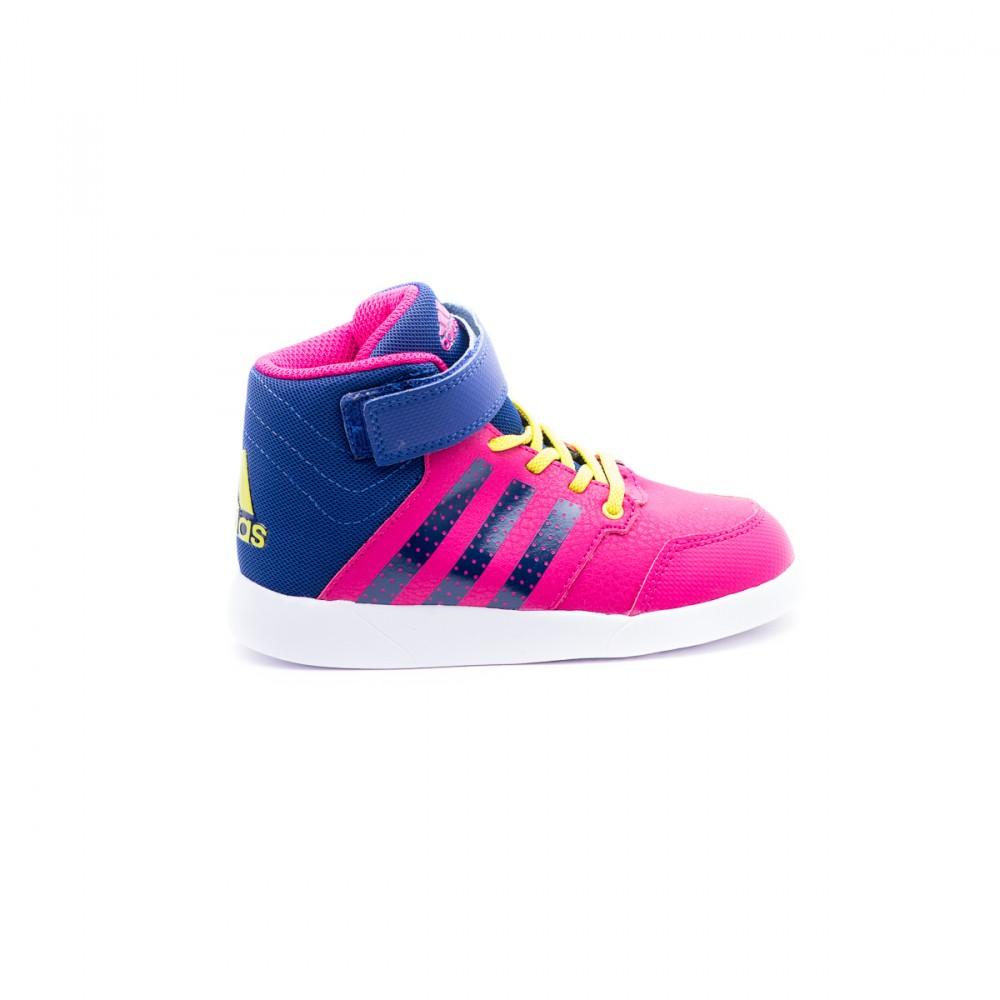 Παιδικό Παπούτσι - Adidas φούξια αθλητικό μποτάκι AQ6813- Αθλητικό ... eebc925672c