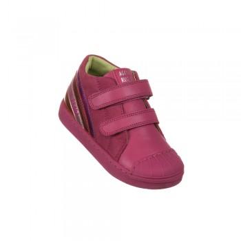Παιδικό δερμάτινο μποτάκι Agatha Ruiz De La Prada 191910 ροζ
