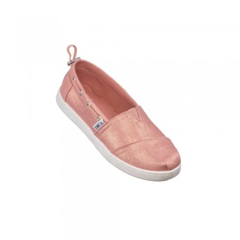 Toms Πάνινη Εσπαντρίγια Coral Pnk Shimmr 10013611 ροζ