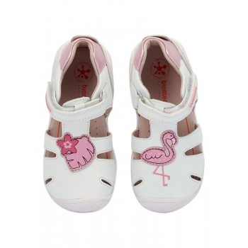 Παιδικό λευκό παπουτσοπέδιλο Biomecaniccs 202123