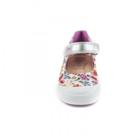 Floral sneaker Geox B72D5C
