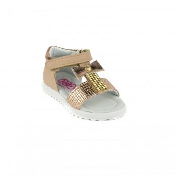 Μπεζ παπουτσοπέδιλο Aby Shoes ABY 713