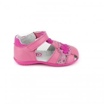 Φούξια παπουτσοπέδιλο Aby Shoes ABY 708