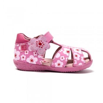Ροζ φλοράλ παπουτσοπέδιλο Agatha Ruiz De La Prada 182904