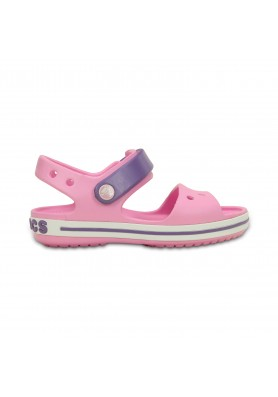 Ροζ πέδιλο Crocs 12856-6ML crocband sandal kids carnation